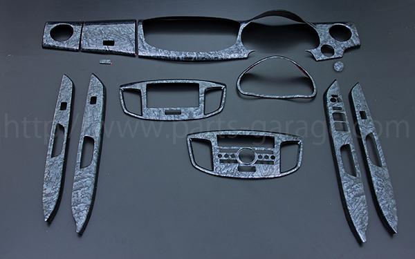画像1: PGオリジナル インテリアパネル ワゴンRスティングレー MH34S 12ピースセット