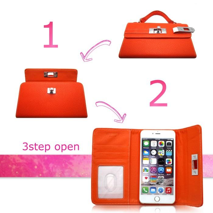 画像2: HEARTS ハーツ iPhone6plus ケース バッグ型スマホカバー